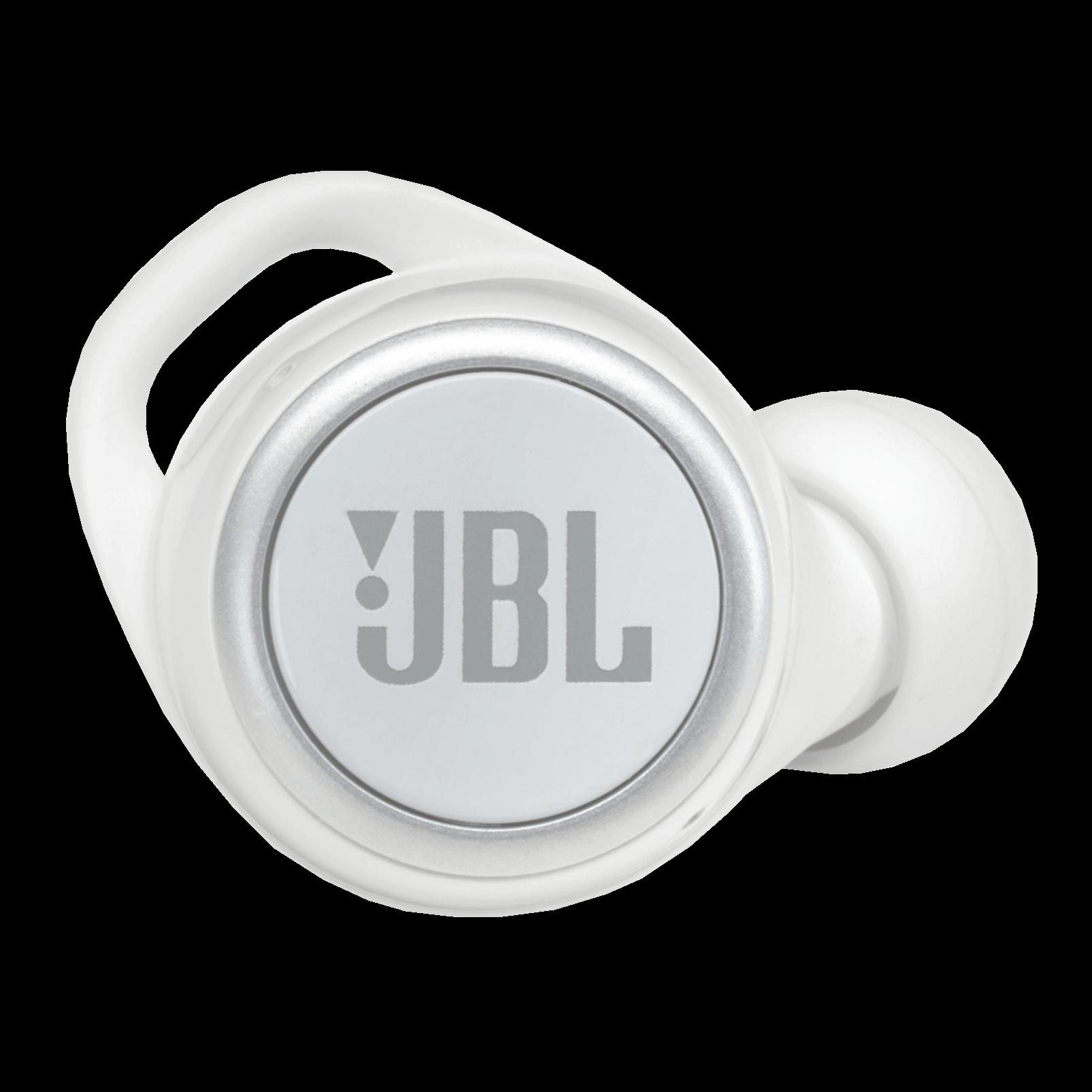 JBL Live 300TWS - White Gloss - True wireless in-ear headphones with Smart Ambient - Detailshot 1