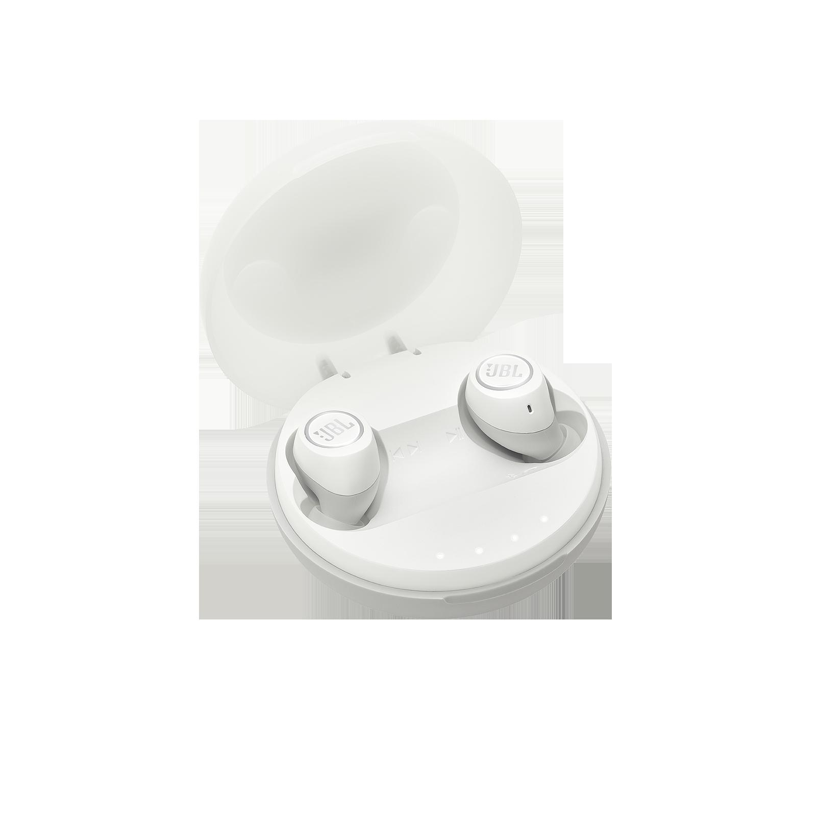 JBL Free X - White - True wireless in-ear headphones - Hero