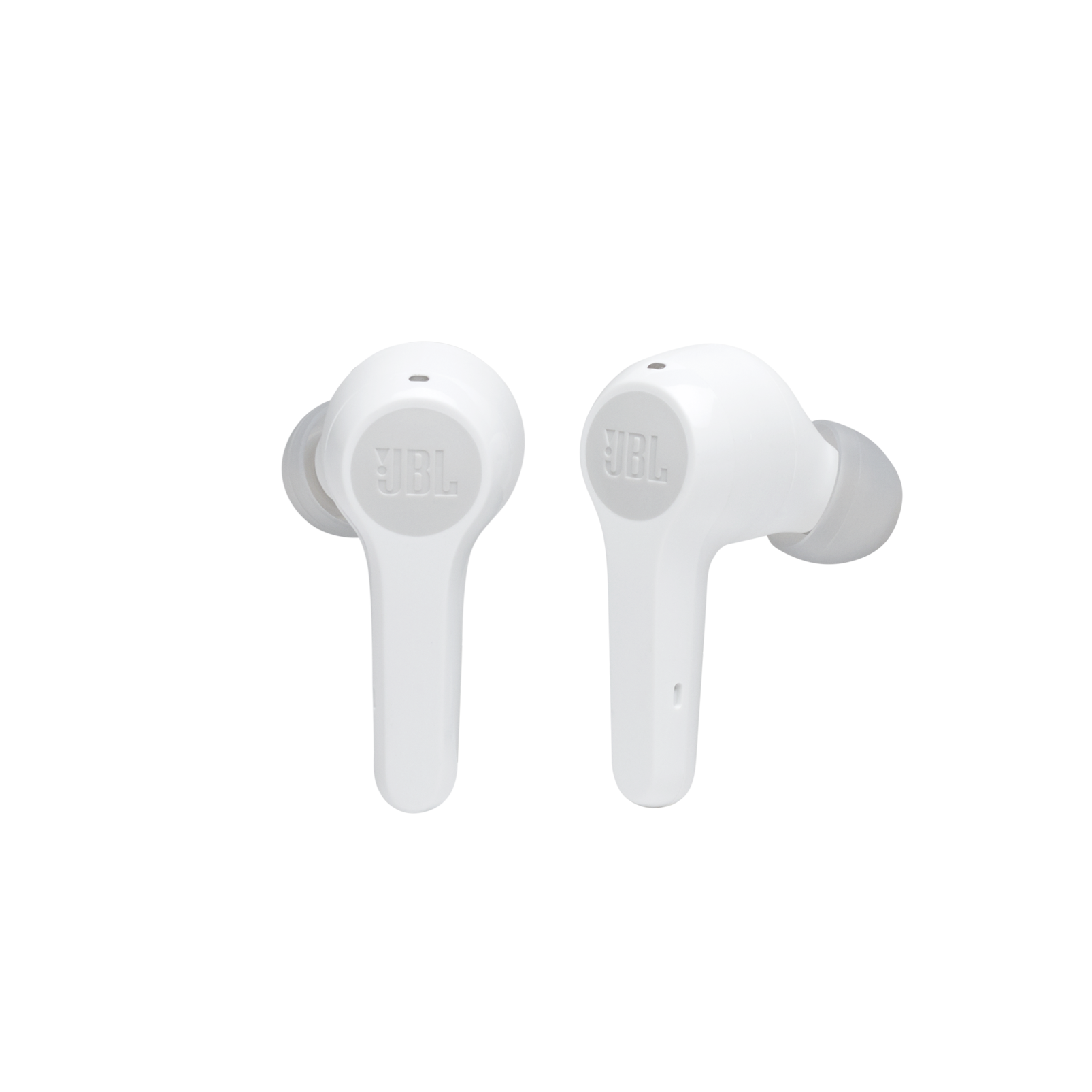 JBL Tune 215TWS - White - True wireless earbud headphones - Front