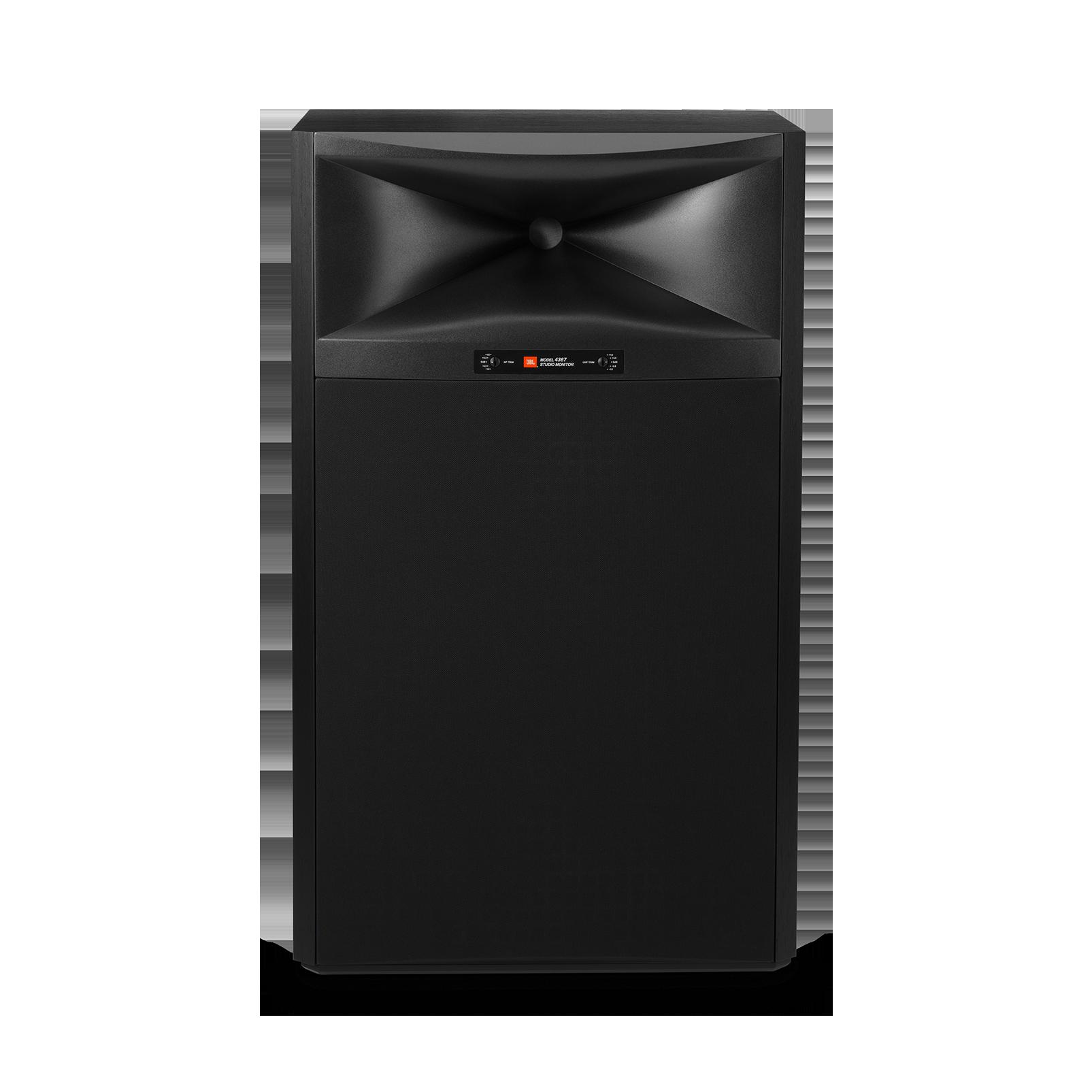 "4367 - Black - 2-way 15"" (380mm) Floorstanding Studio Monitor Loudspeaker - Hero"