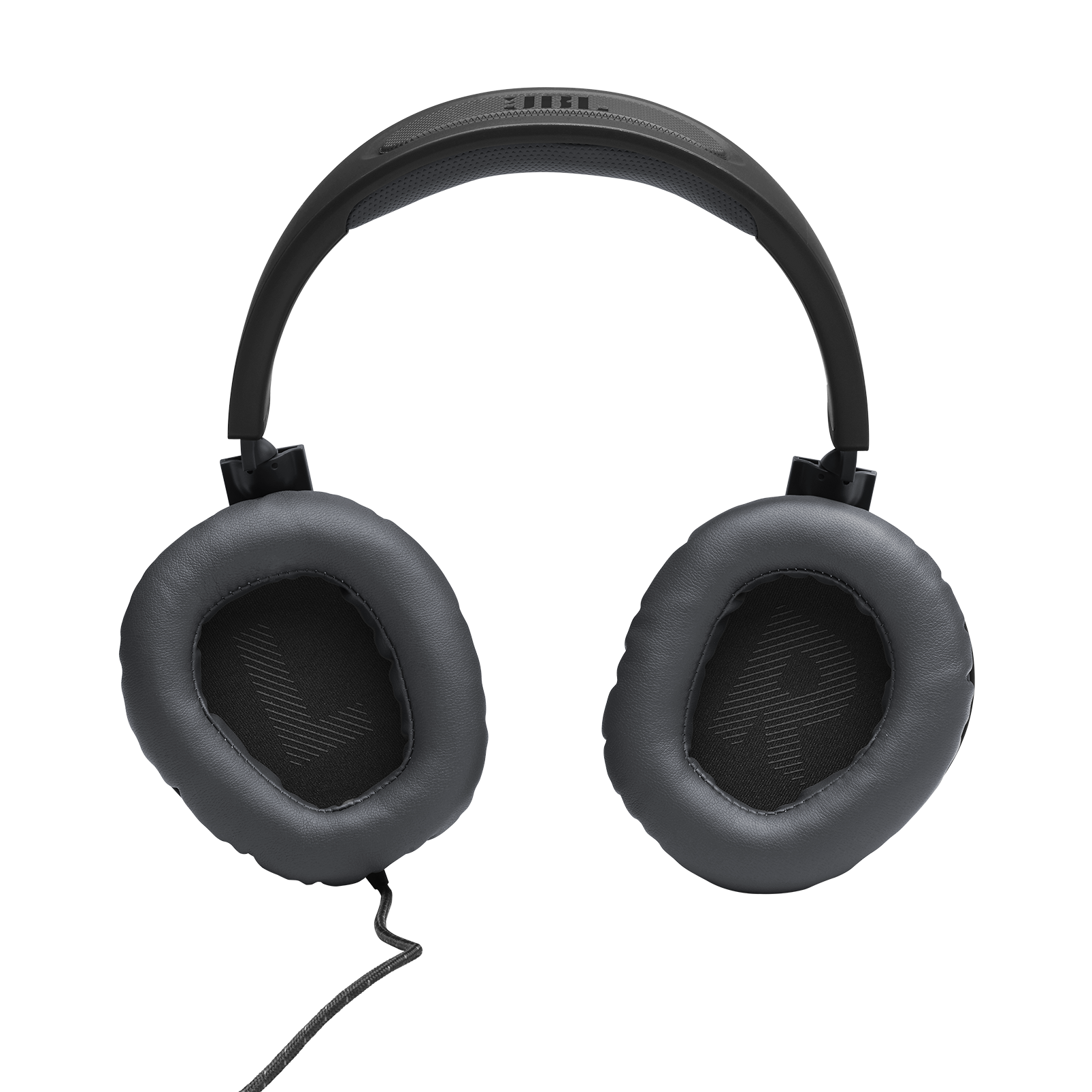 JBL Quantum 100 - Black - Wired over-ear gaming headset with a detachable mic - Detailshot 3