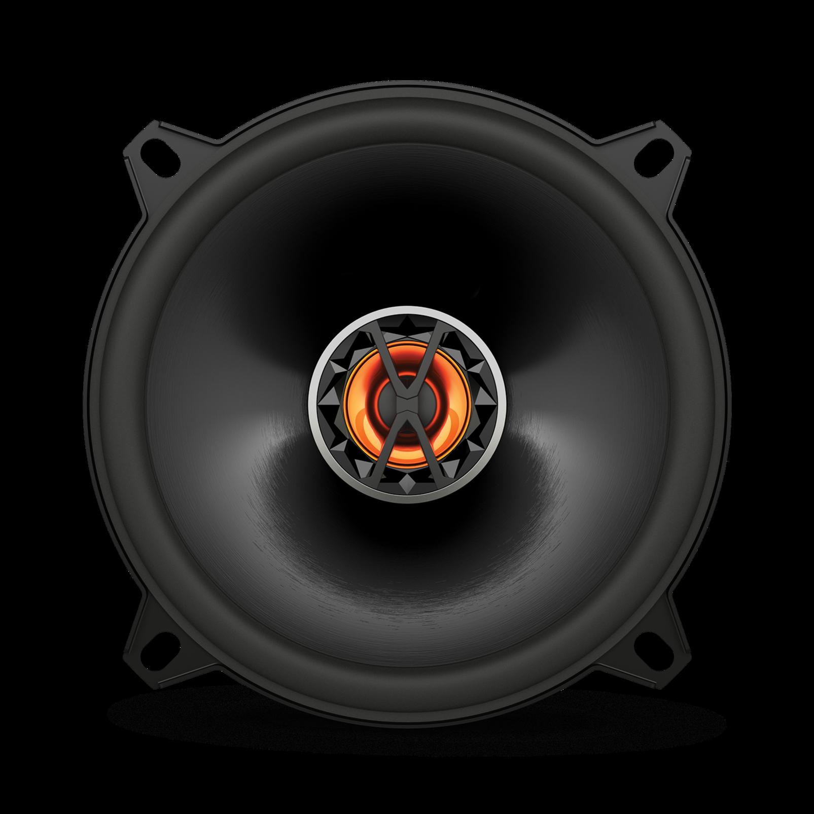 "Club 5020 - Black - 5-1/4"" (130mm) coaxial car speaker - Front"