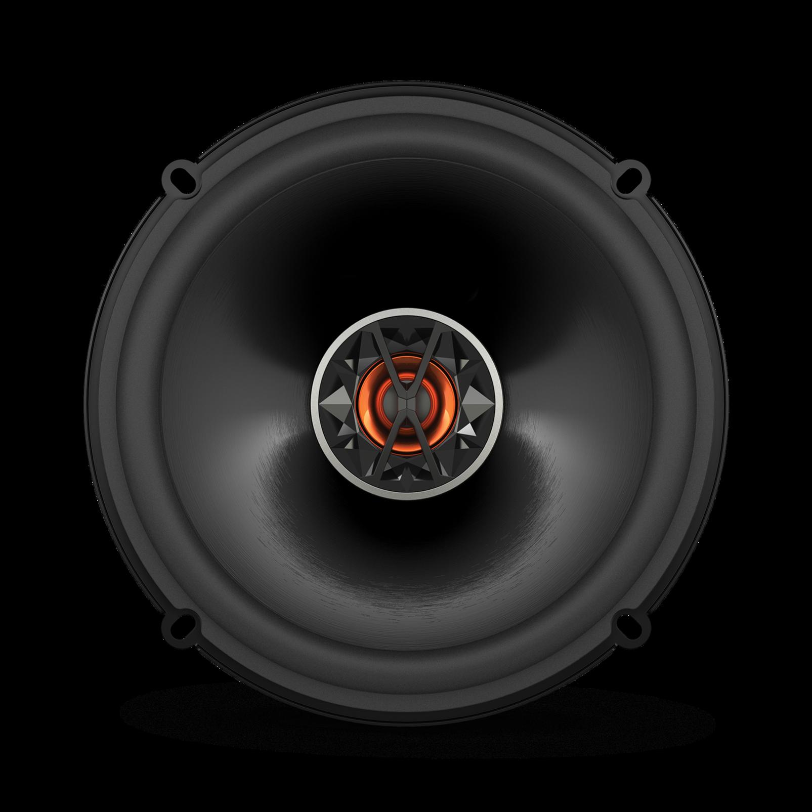 "Club 6520 - Black - 6-1/2"" (160mm) coaxial car speaker - Front"