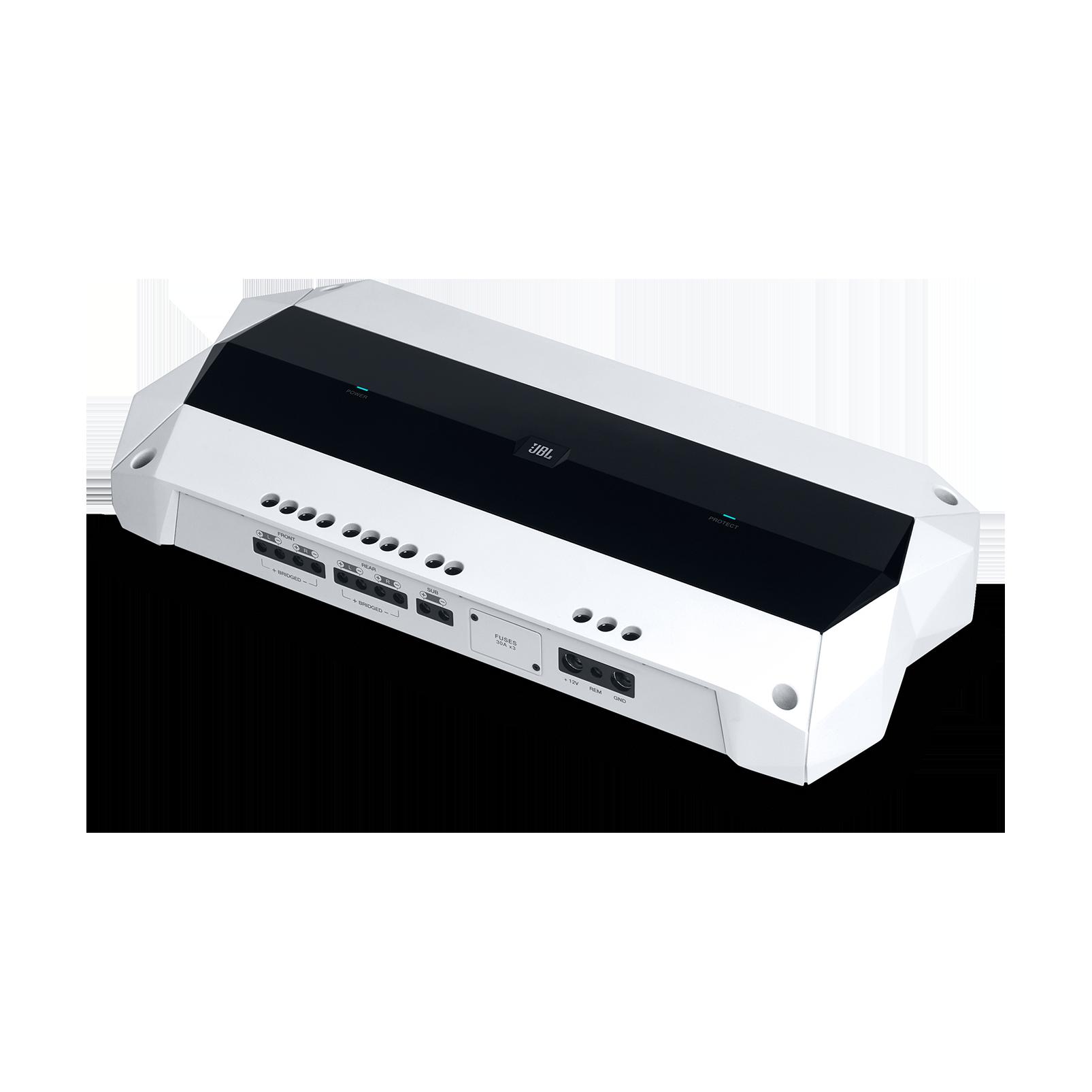 JBL Marine MA4505 - White Matte - Multi-element high-performance, 5-channel amplifier - Hero