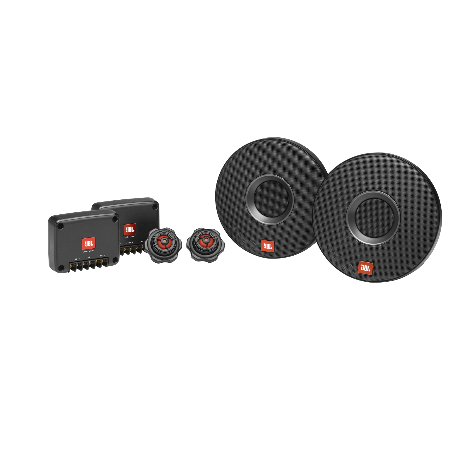 Club 605CSQ - Black - JBL upgrade sound is now accessible in more vehicles - Hero