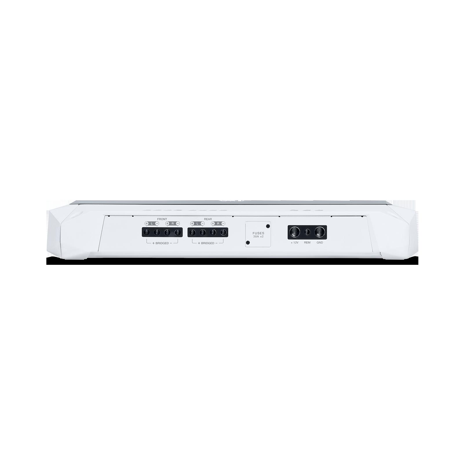 JBL Marine MA704 - White Matte - Multi-element high-performance, 4-channel amplifier - Detailshot 1