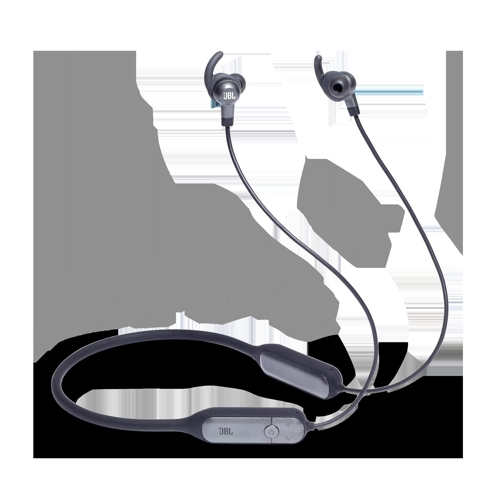 JBL EVEREST™ ELITE 150NC - Gun Metal - Wireless In-Ear NC headphones - Hero