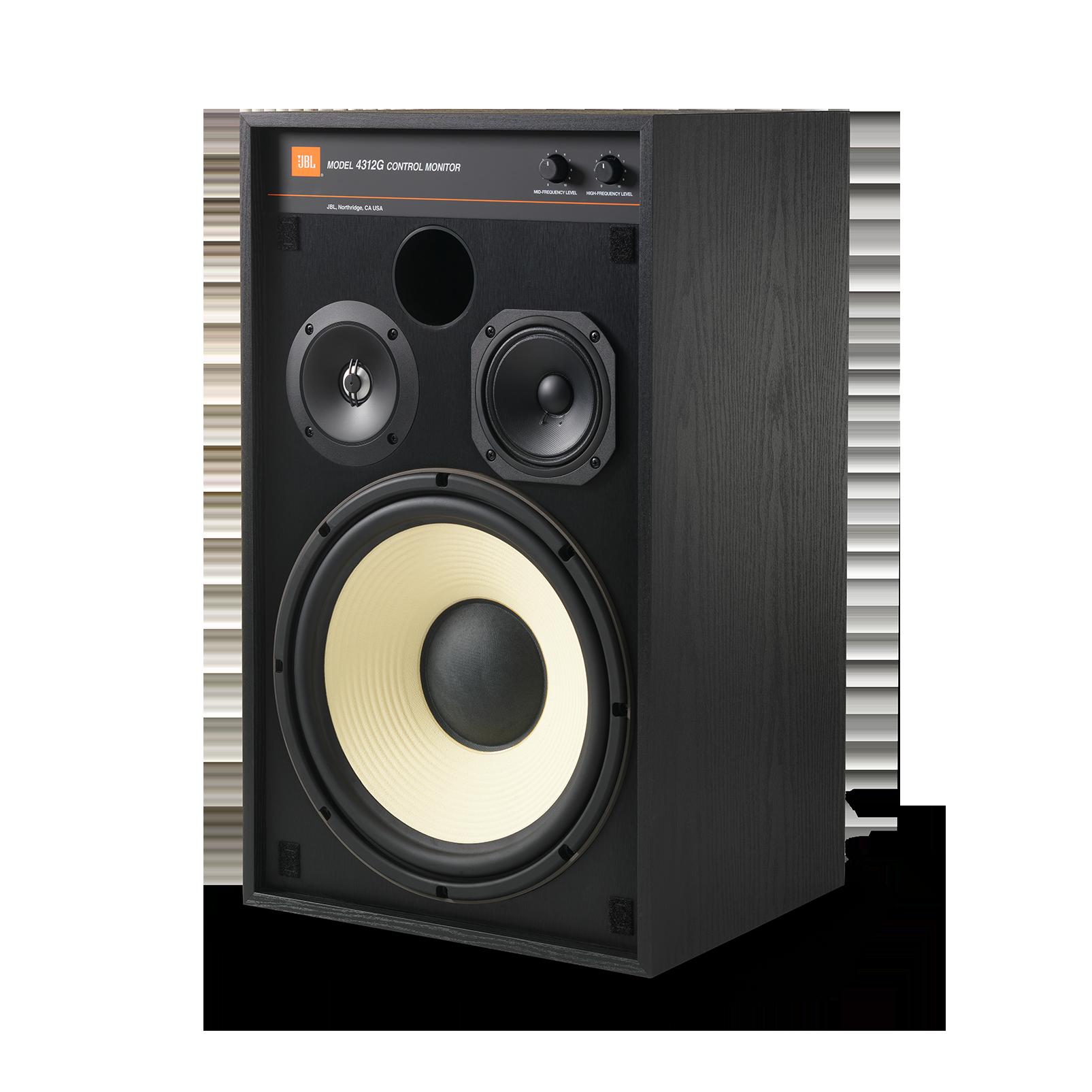 4312G - Black - 12-inch (300mm) 3-way Studio Monitor Bookshelf Loudspeaker - Detailshot 3