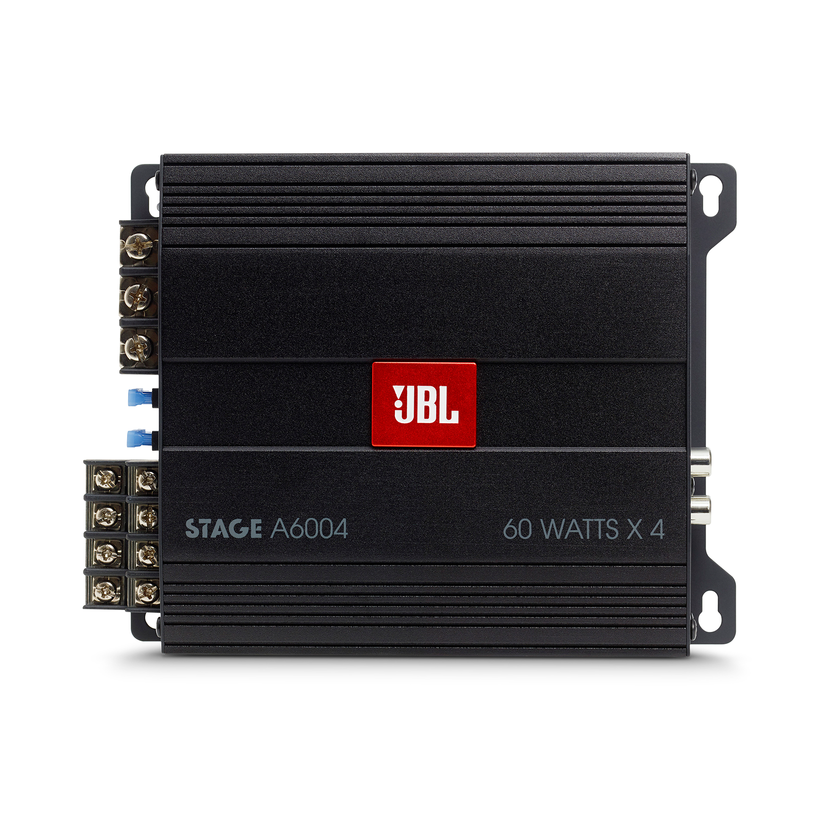 JBL Stage Amplifier A6004 - Black - Class D Car Audio Amplifier - Front