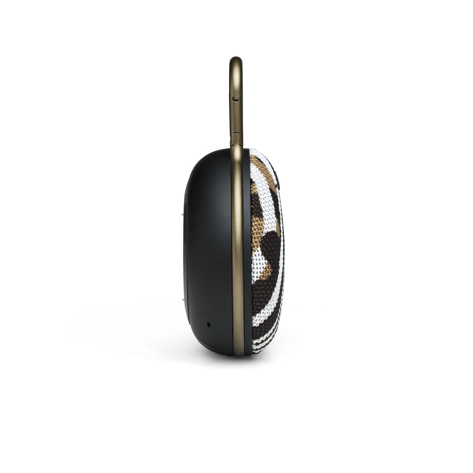JBL CLIP 3 - BlackWhite/Brown Camo - Portable Bluetooth® speaker - Right