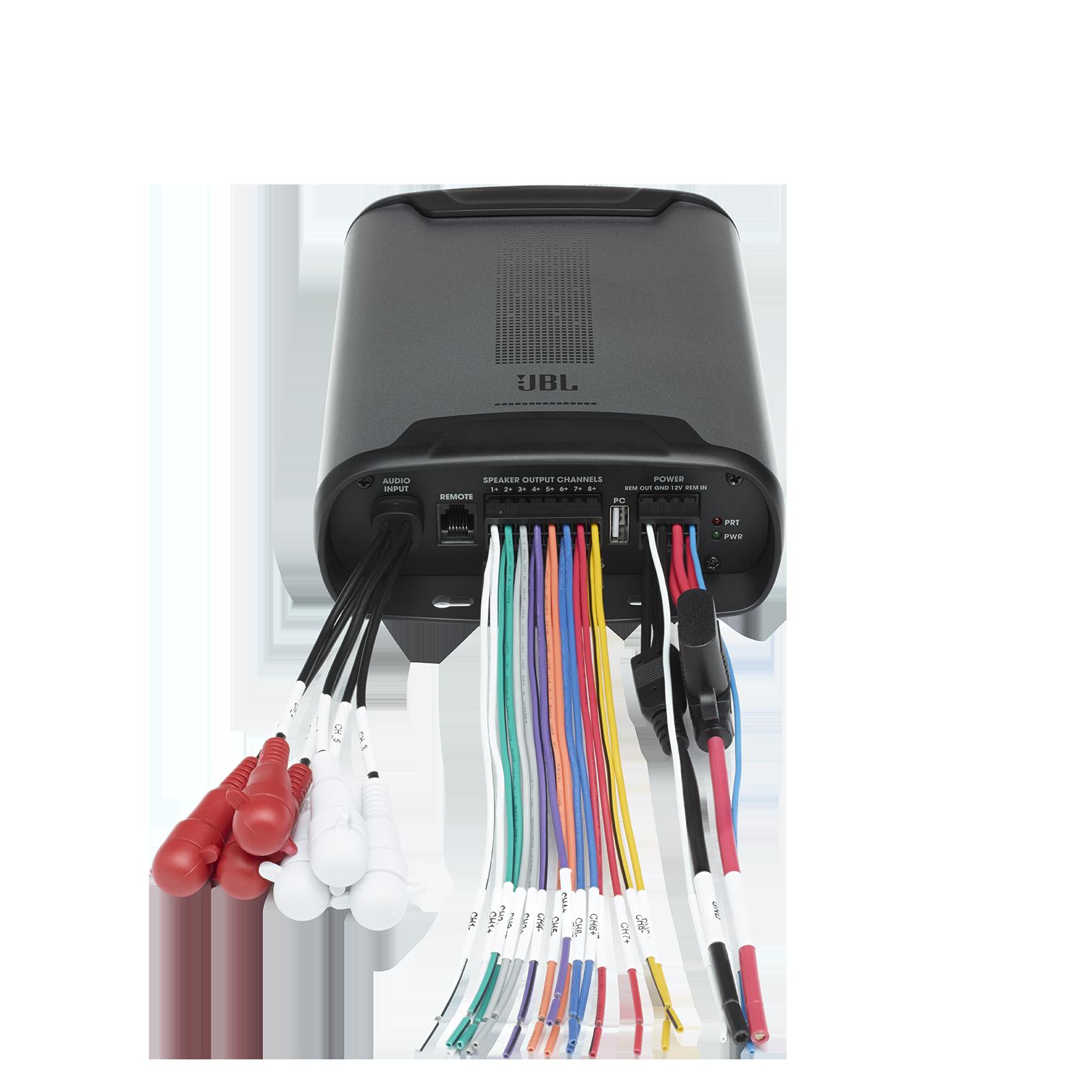 JBL DSP Amplifier DSP4086 - Black - Detailshot 2