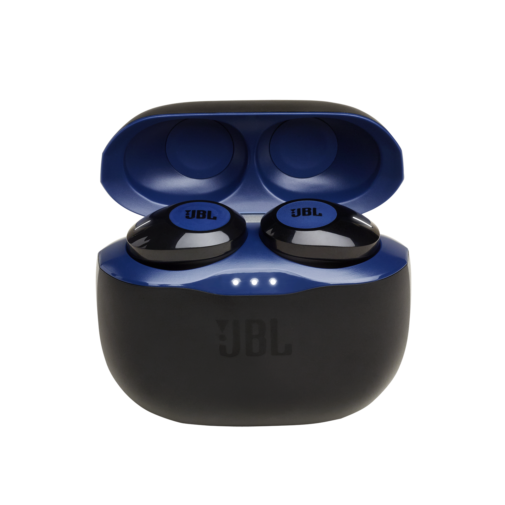JBL Tune 120TWS - Blue - True wireless in-ear headphones. - Hero