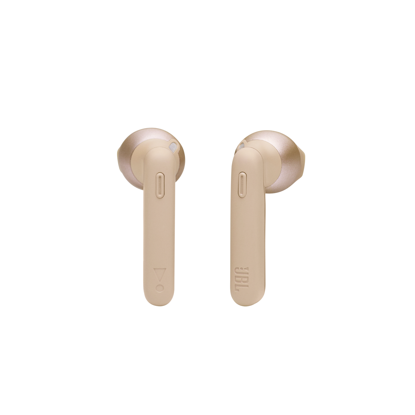 JBL Tune 225TWS - Gold - True wireless earbud headphones - Front