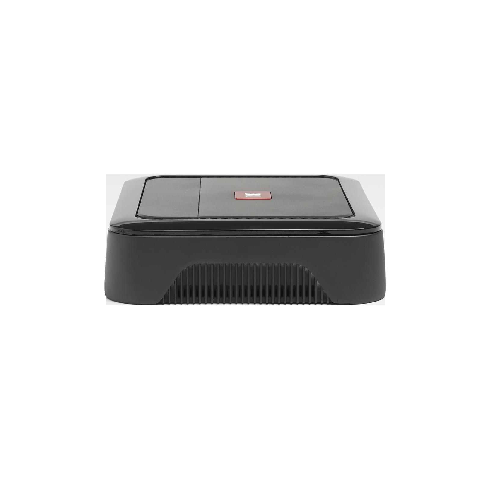 Club A600 - Black - High performance mono subwoofer car amplifier - Left