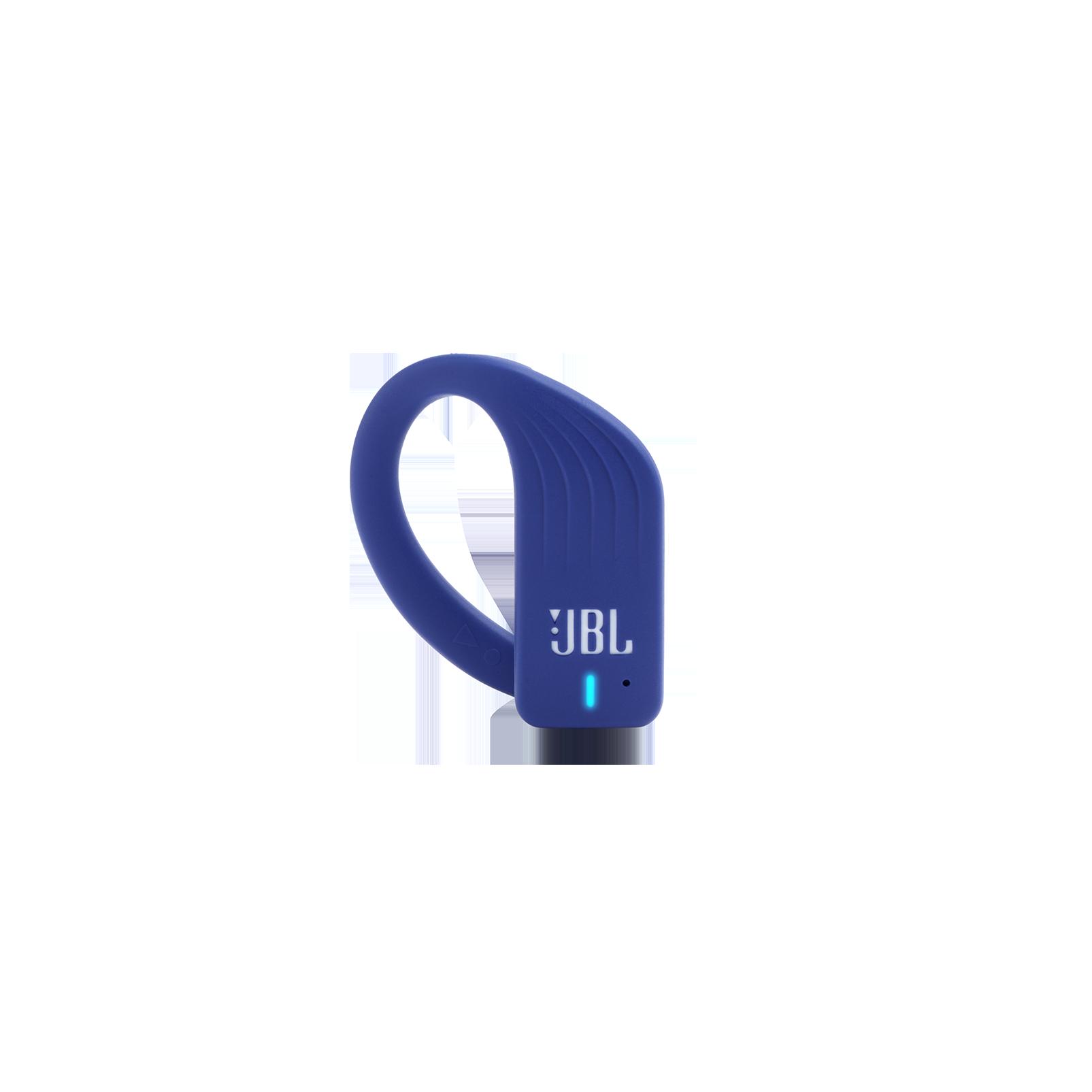 JBL Endurance PEAK - Blue - Waterproof True Wireless In-Ear Sport Headphones - Detailshot 2