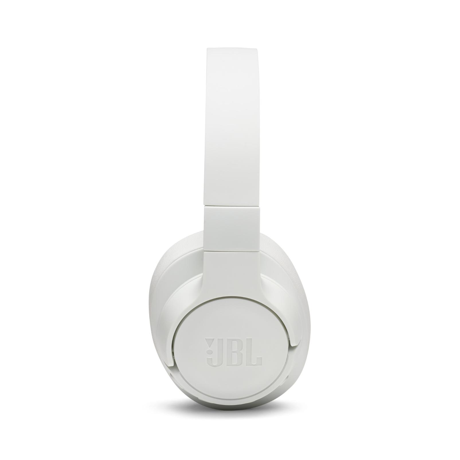 JBL TUNE 750BTNC - White - Wireless Over-Ear ANC Headphones - Left