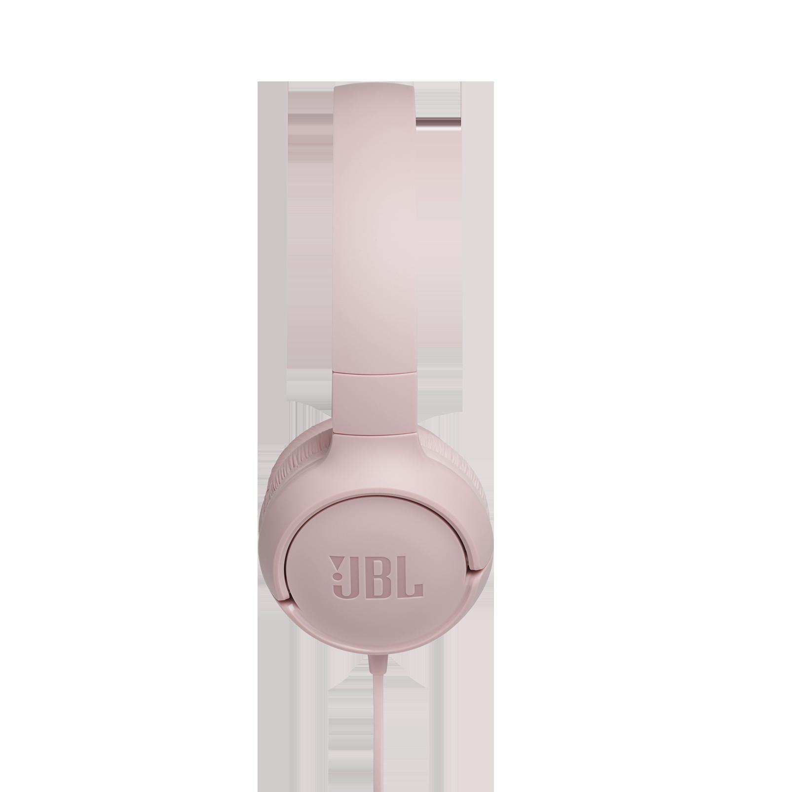 JBL TUNE 500 - Pink - Wired on-ear headphones - Detailshot 2