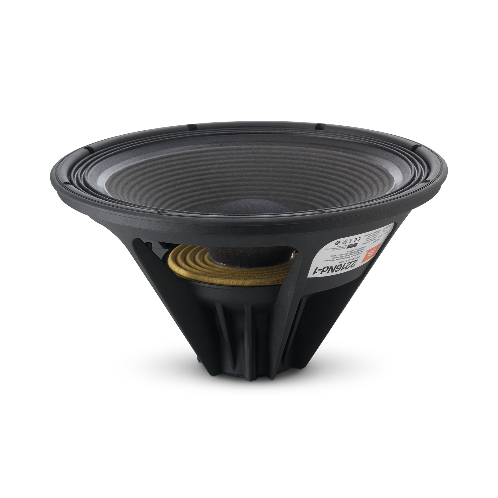 "4367 - Black - 2-way 15"" (380mm) Floorstanding Studio Monitor Loudspeaker - Detailshot 2"