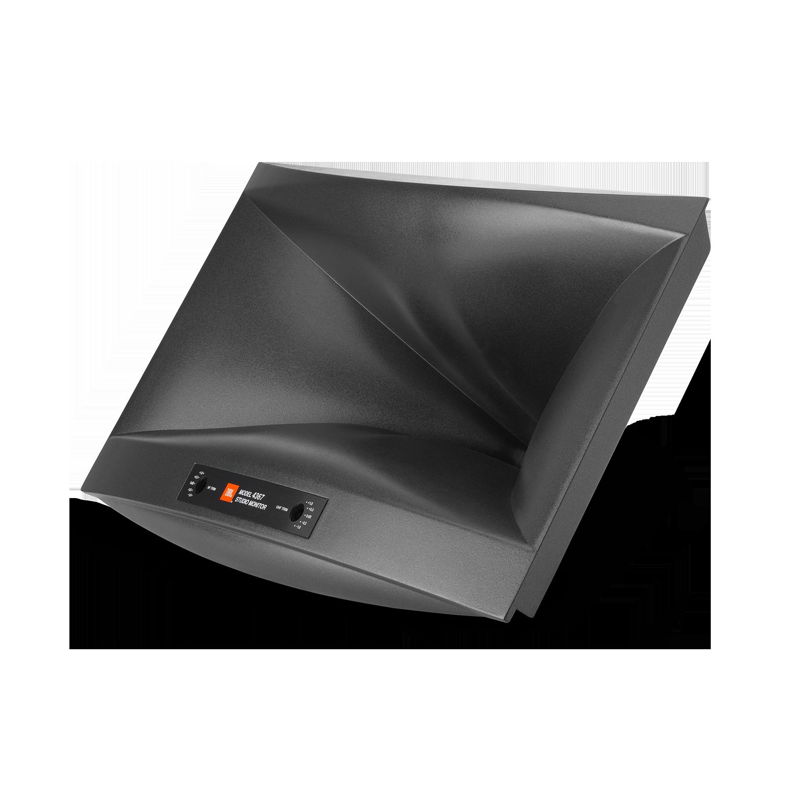 "4367 - Black - 15"" (380mm) 2-way Floorstanding Studio Monitor Loudspeaker - Detailshot 1"