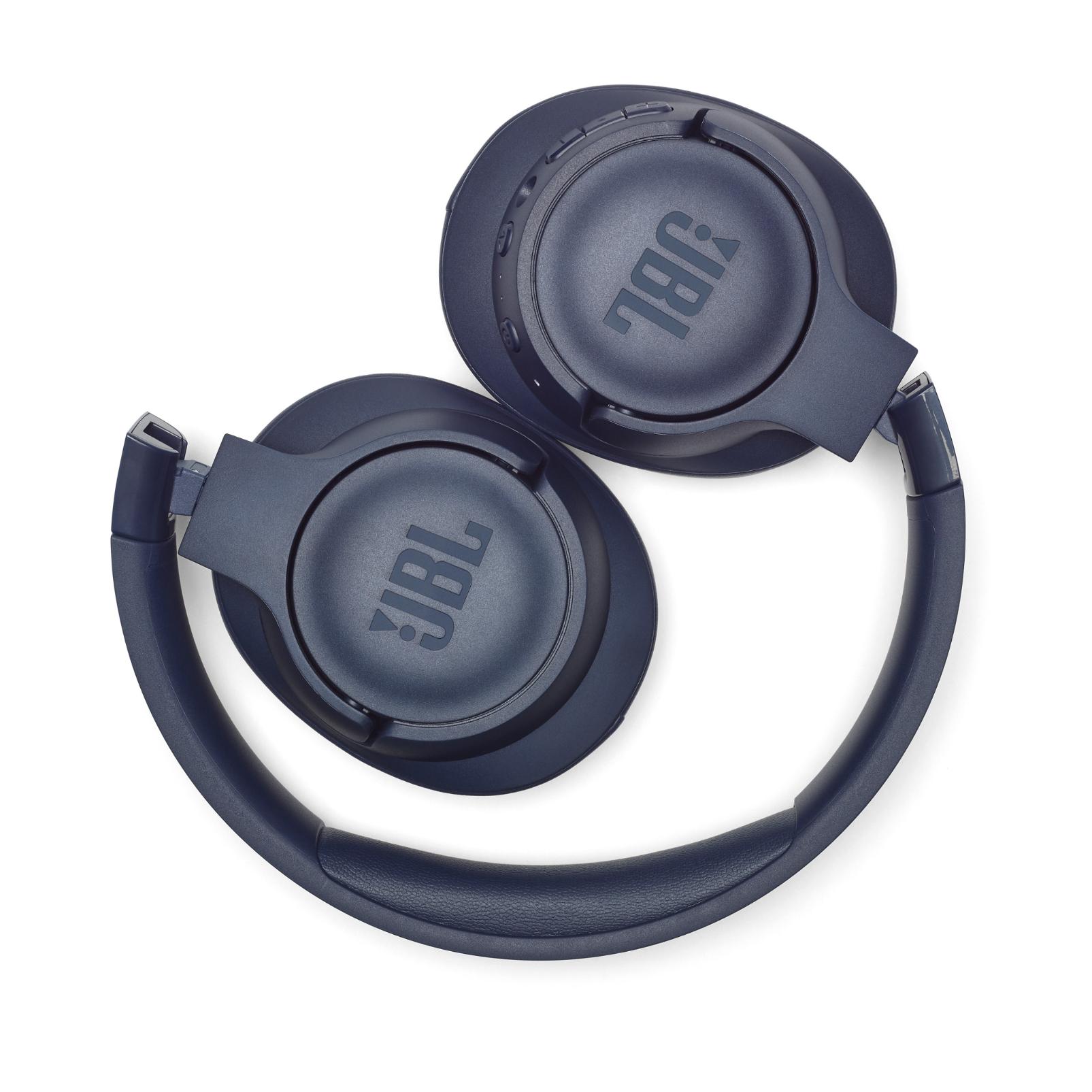 JBL TUNE 750BTNC - Blue - Wireless Over-Ear ANC Headphones - Detailshot 2