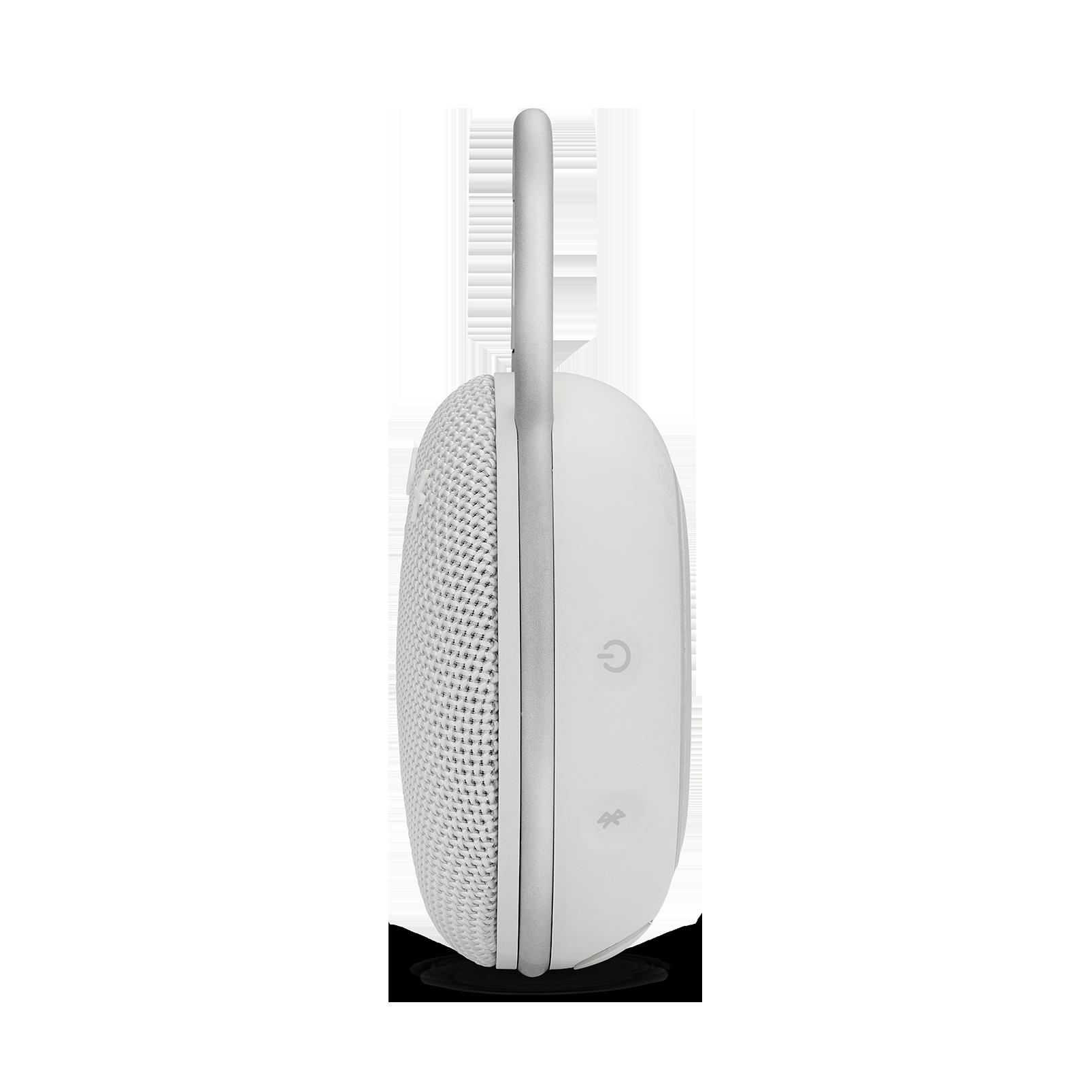 JBL CLIP 3 - Steel White - Portable Bluetooth® speaker - Detailshot 2