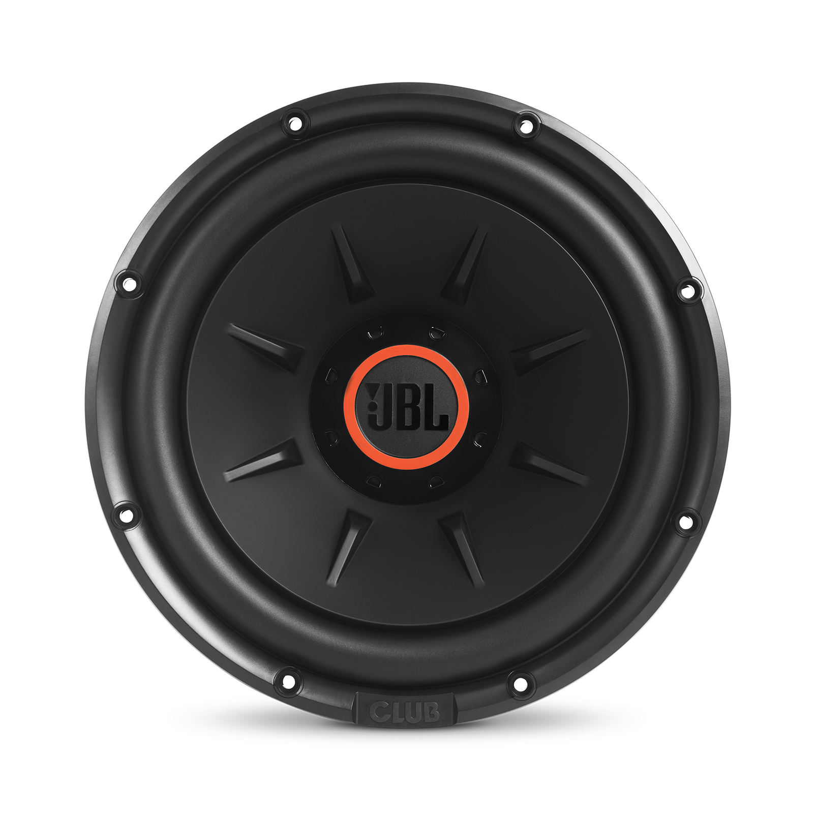 "Club 1224 - Black - 10"" (250mm) and 12"" (300mm) car audio subwoofers - Front"