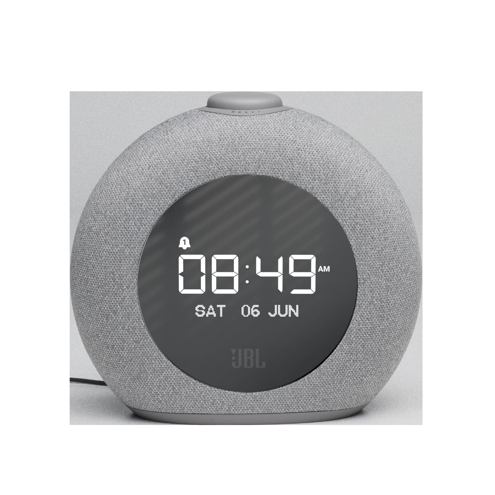 JBL Horizon 2 FM - Grey - Bluetooth clock radio speaker with FM - Front