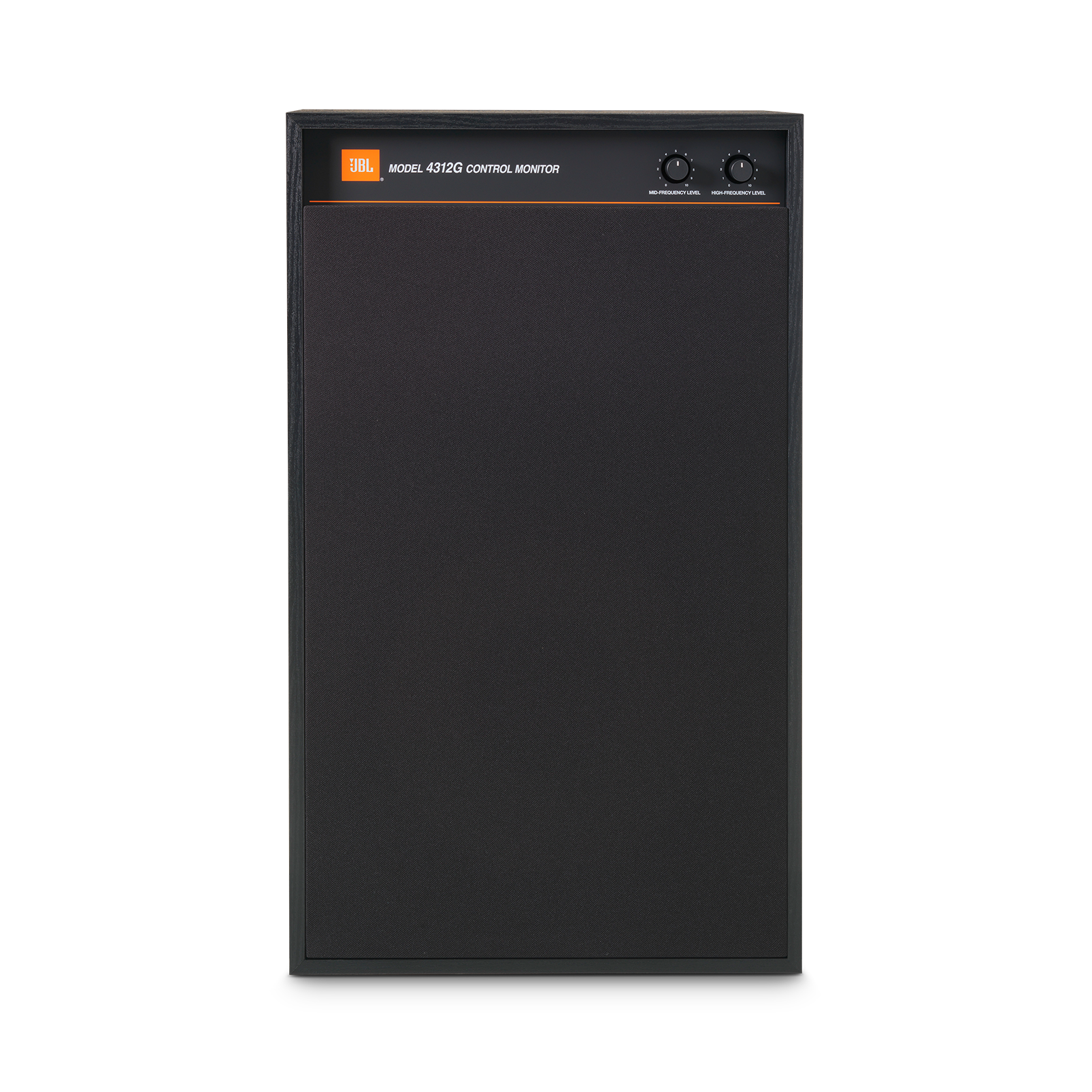 4312G - Black - 12-inch (300mm) 3-way Studio Monitor Bookshelf Loudspeaker - Front
