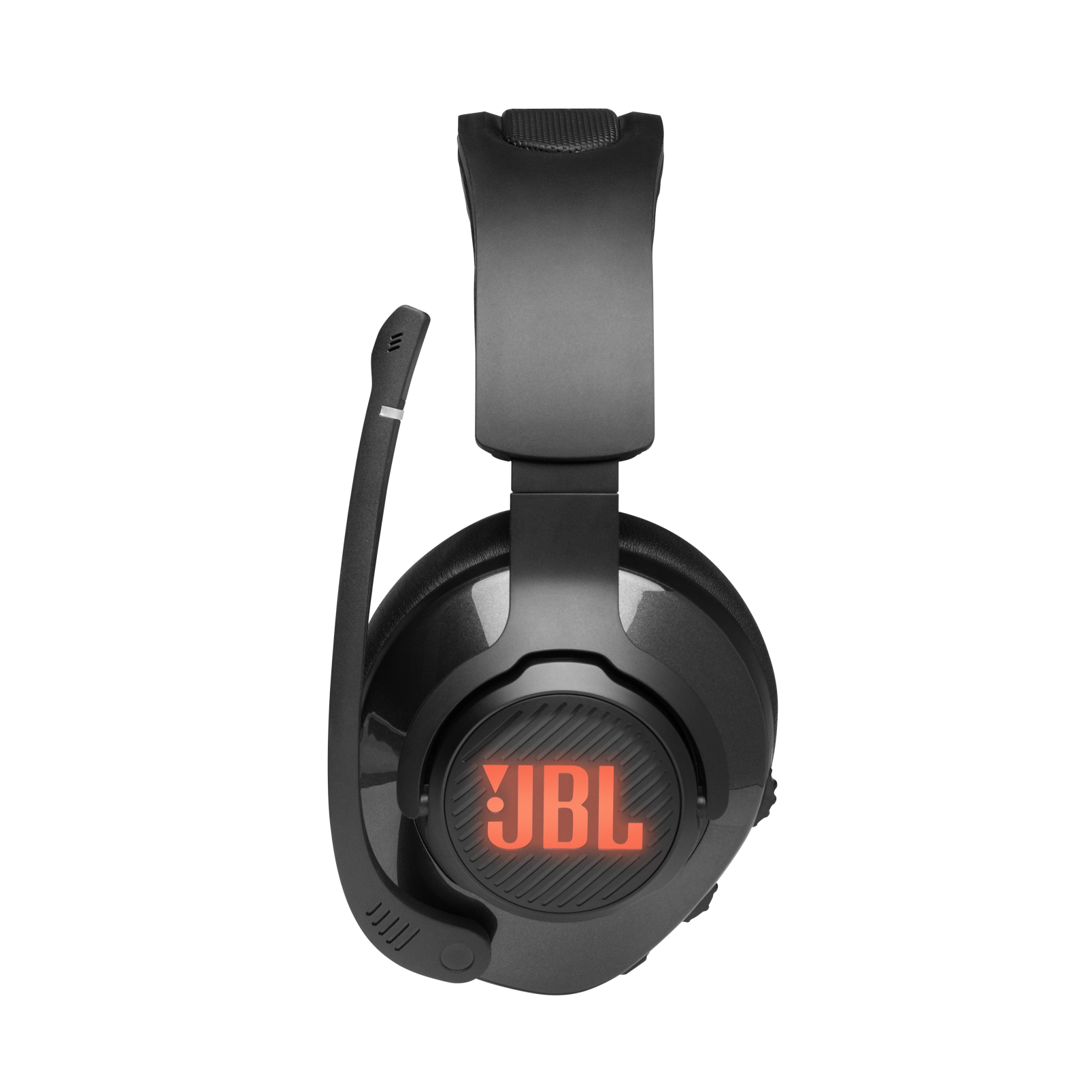 JBL Quantum 400 - Black - USB over-ear gaming headset with game-chat dial - Detailshot 6