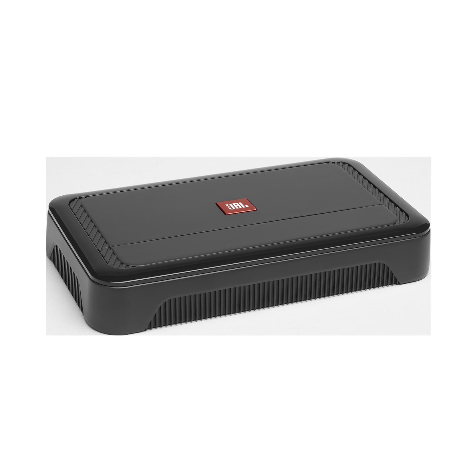 Club A754 - Black - High performance 4 channel car amplifier - Hero