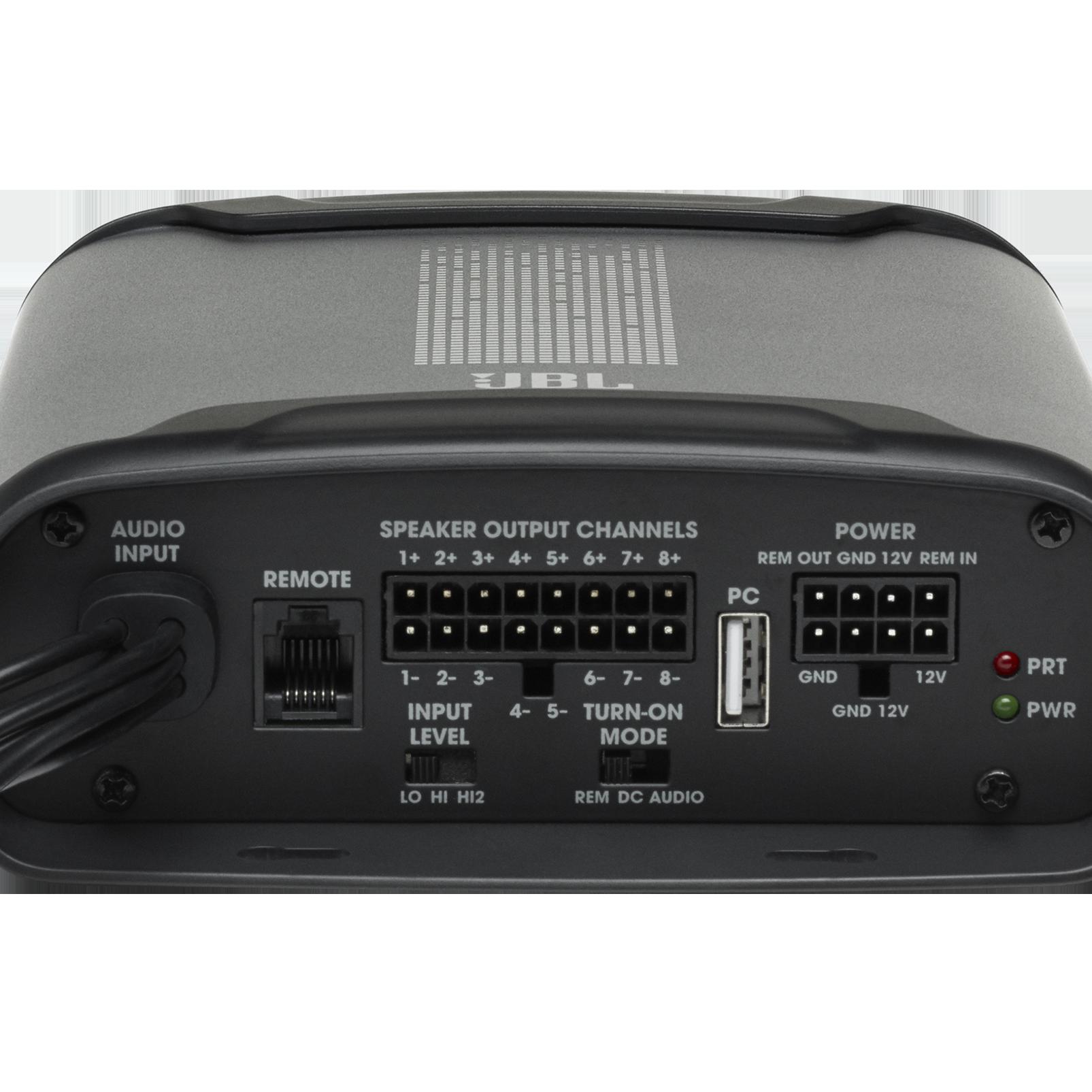 JBL DSP Amplifier DSP4086 - Black - Detailshot 3