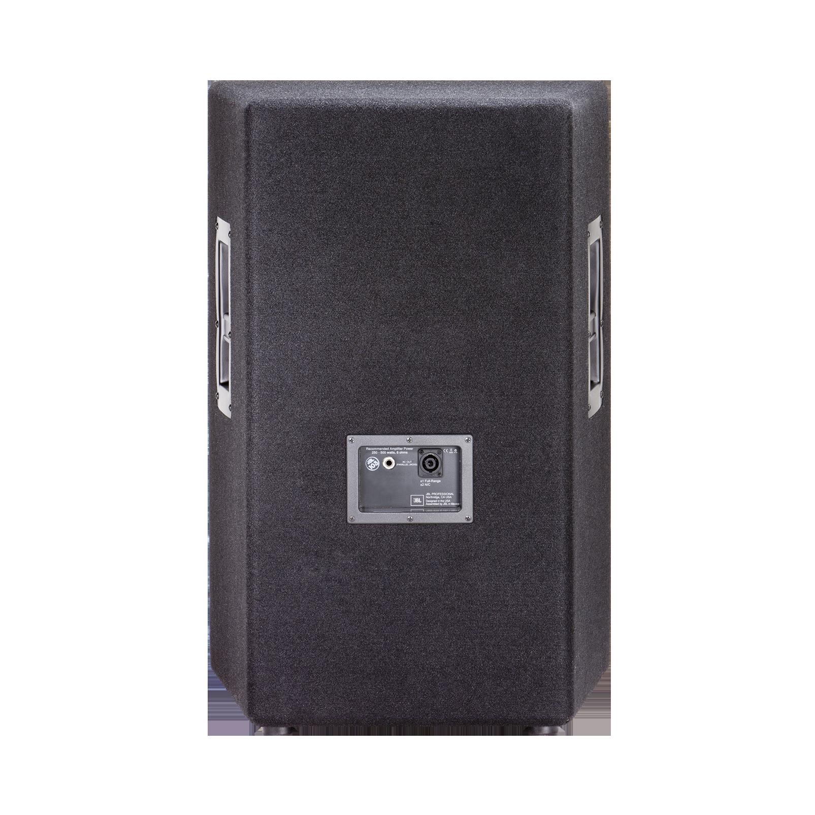 """JBL JRX215 - Black - 15"""" Two-Way Sound Reinforcement Loudspeaker System - Back"""
