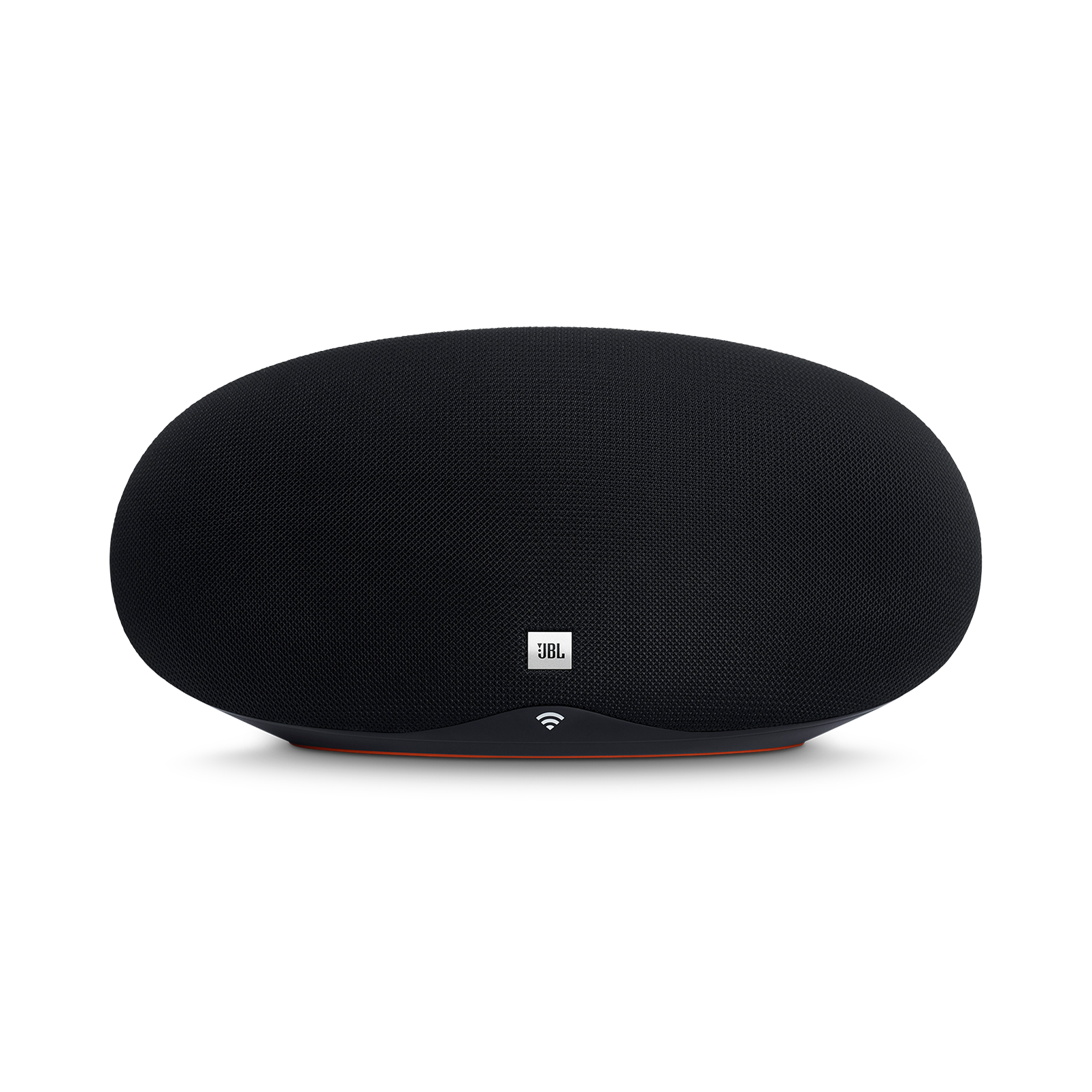 JBL Playlist - Black - Wireless speaker with Chromecast built-in - Front