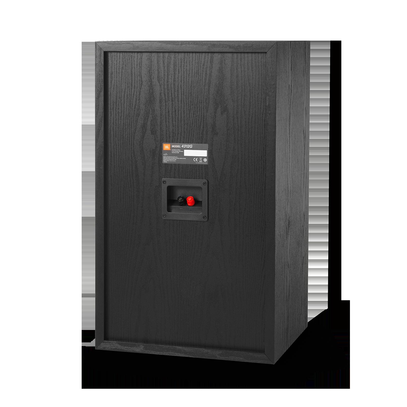 4312G - Black - 12-inch (300mm) 3-way Studio Monitor Bookshelf Loudspeaker - Back