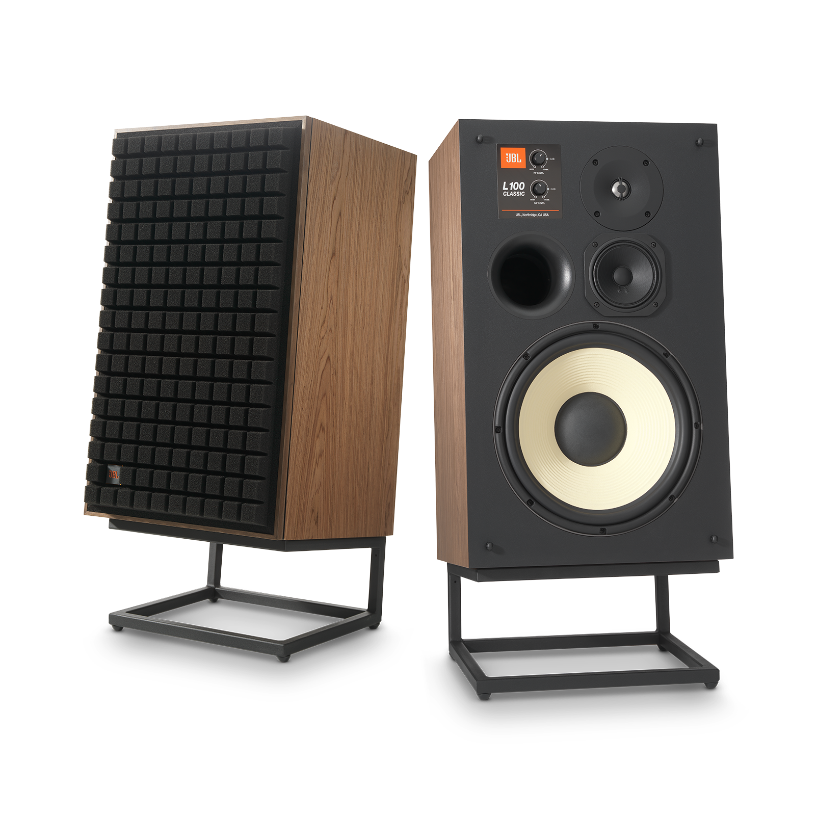 "L100 Classic - Black - 12"" (300mm) 3-way Bookshelf Loudspeaker - Detailshot 2"