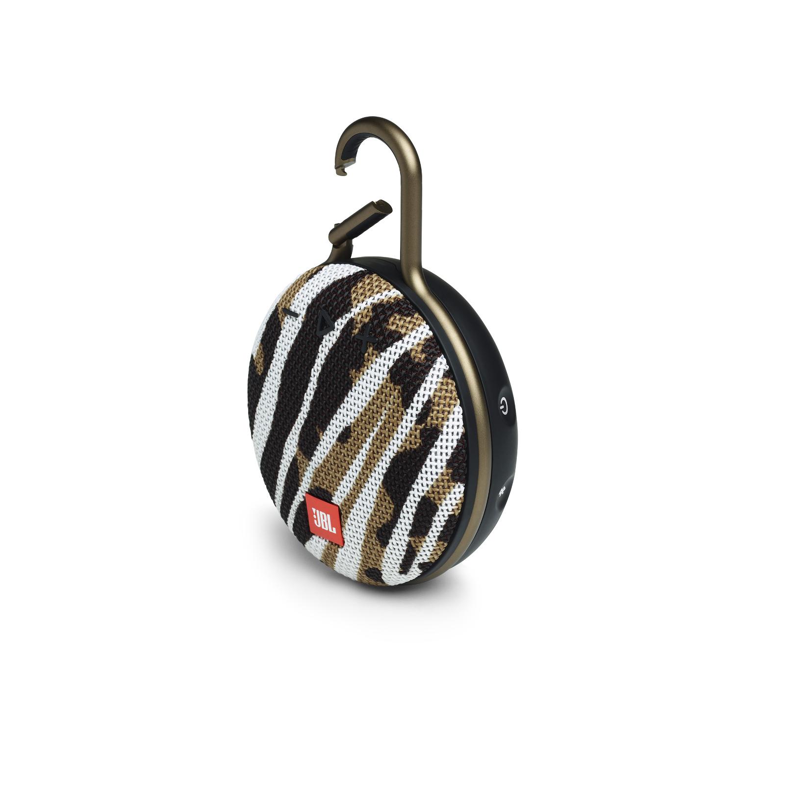 JBL CLIP 3 - BlackWhite/Brown Camo - Portable Bluetooth® speaker - Detailshot 2