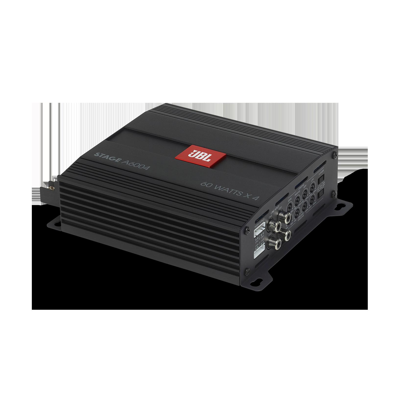 JBL Stage Amplifier A6004 - Black - Class D Car Audio Amplifier - Hero