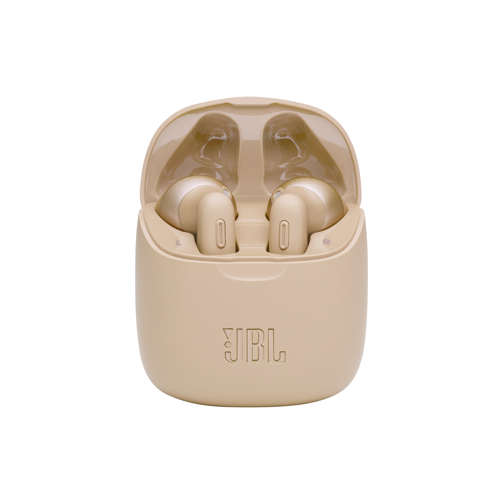 JBL Tune 225TWS - Gold - True wireless earbud headphones - Detailshot 4