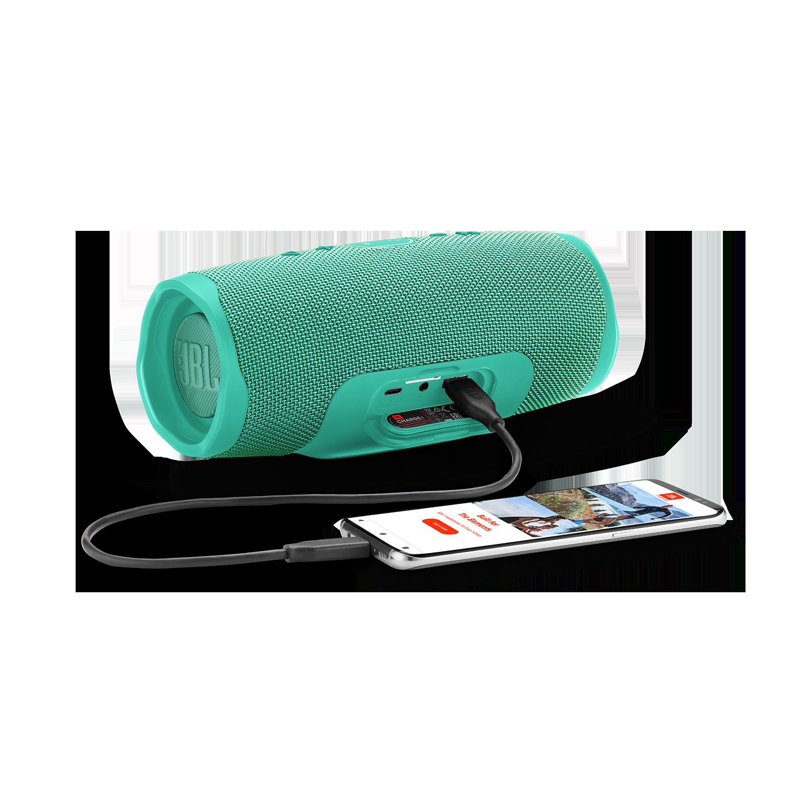JBL Charge 4 - Teal - Portable Bluetooth speaker - Detailshot 4