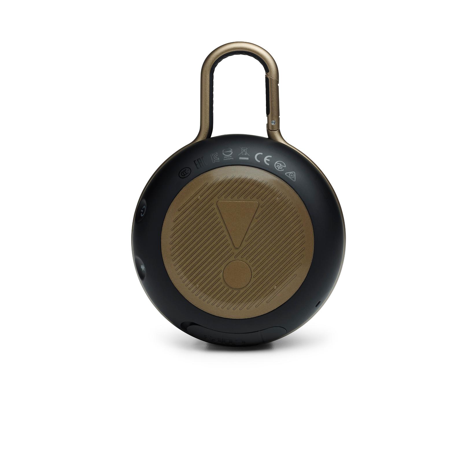 JBL CLIP 3 - BlackWhite/Brown Camo - Portable Bluetooth® speaker - Back